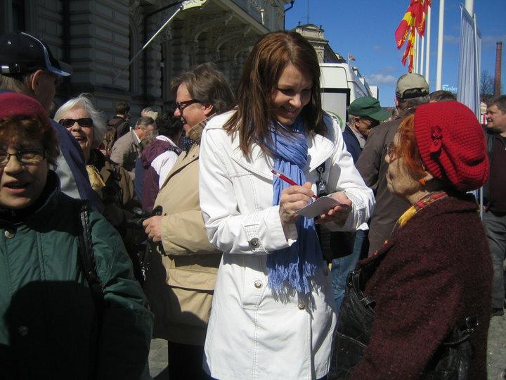 Мари Кивиниеми, премьер-министр Финляндии