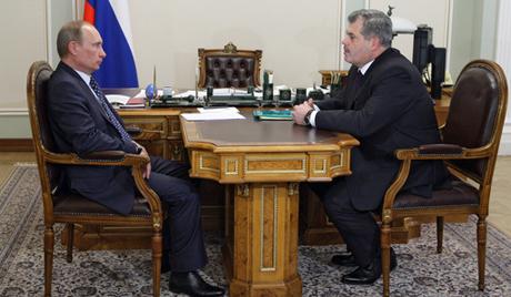 Губернатор встретился с премьером