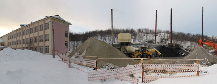 Внезапно: бетонный завод