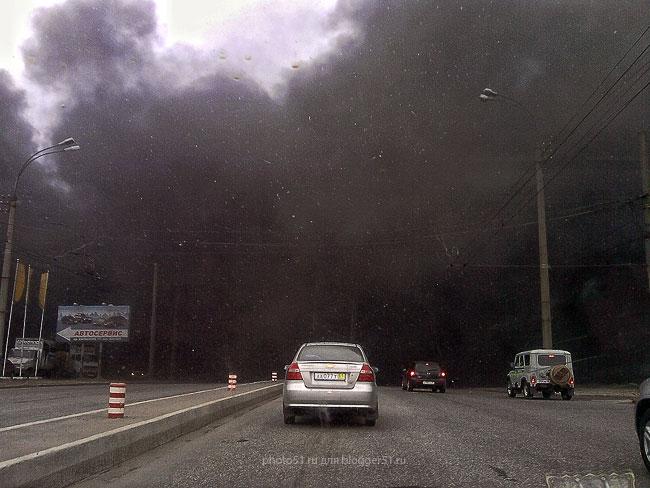 Пожар в «Аквилоне»