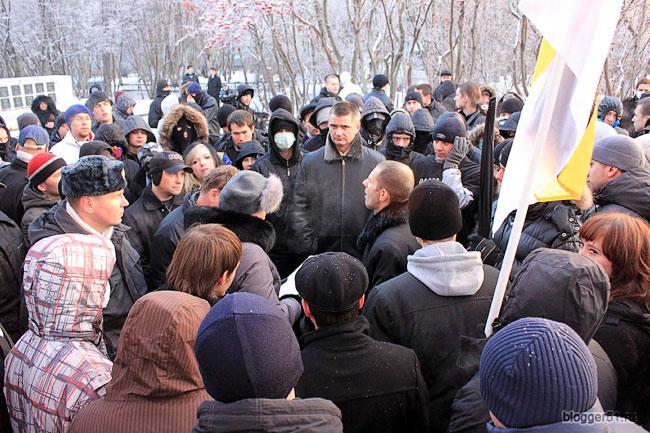 Русский марш и «Мурманск для всех»