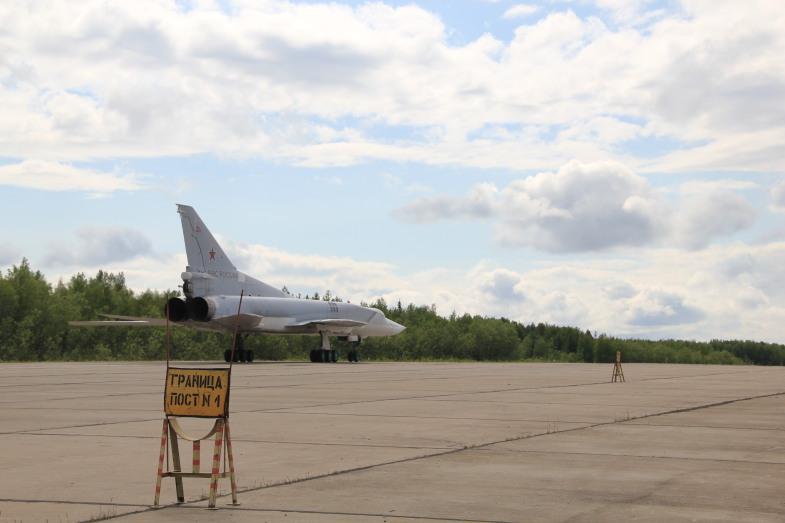 Ту-22М3 в Оленегорске-8