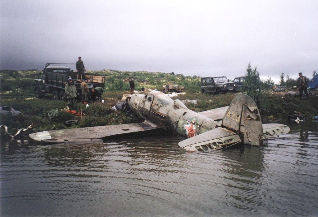 Самолёты Второй мировой, найденные в Мурманской области
