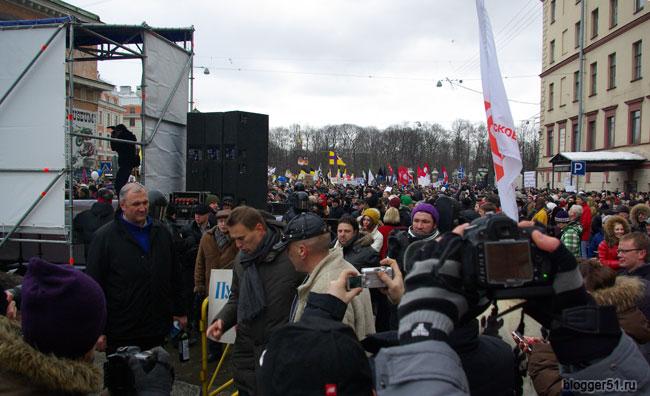 Сходил на митинг оппозиции в Санкт-Петербурге