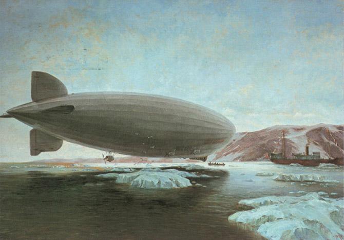 «Граф Цеппелин» над Арктикой