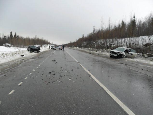 Главный полицейский области попал в аварию