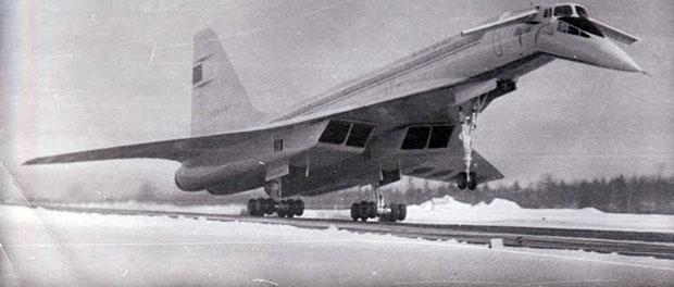 Ту-144 под Оленегорском