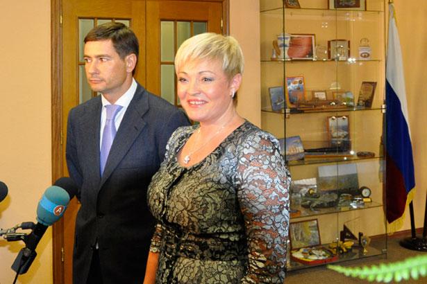 Марина Ковтун и Александр Гривняк