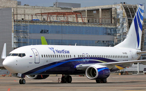 Авиакомпания Таймыр - 2 января 2010 года, рано утром, почти пятичасовой перелет в район Красного моря.