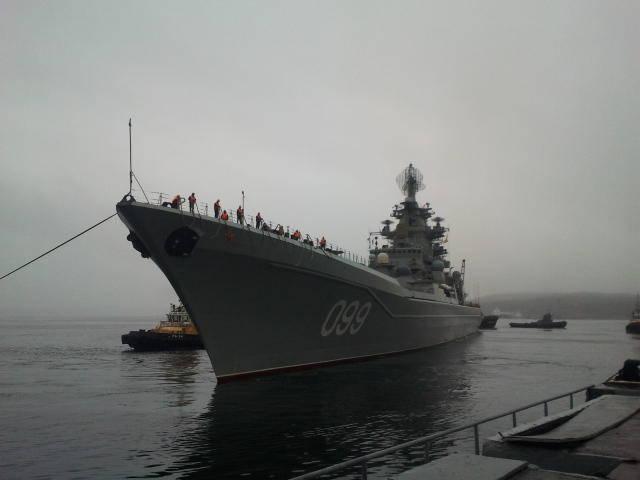 Крейсер Петр Великий вернулся хромым