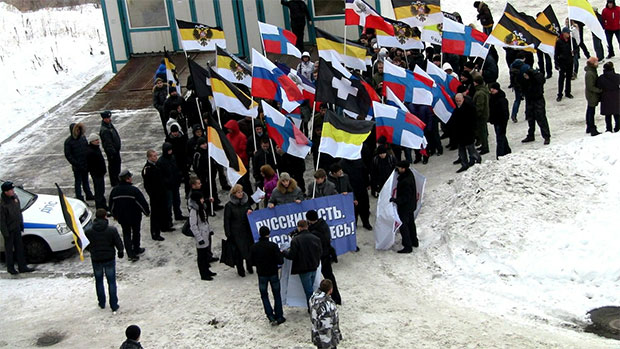 Русский марш в Мурманске