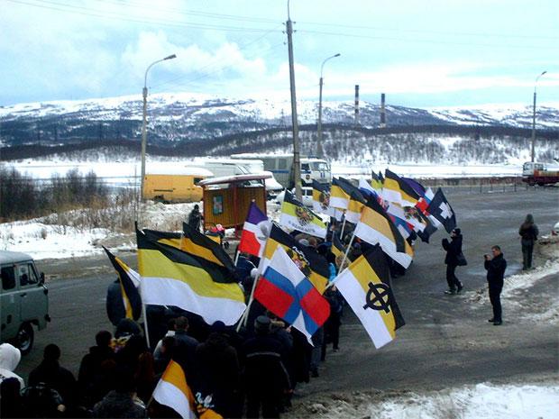 Русский марш в Мурманске 2012