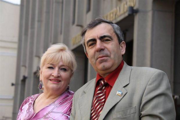 Надежда Максимова и Александр Крупадеров