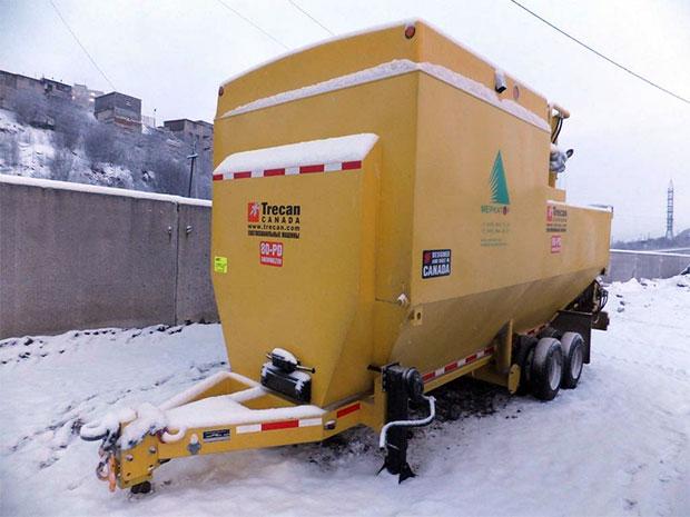 Снегоплавильная установка в Мурманске