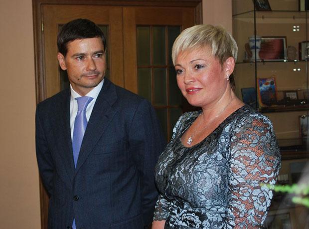 Александр Гривняк и Марина Ковтун
