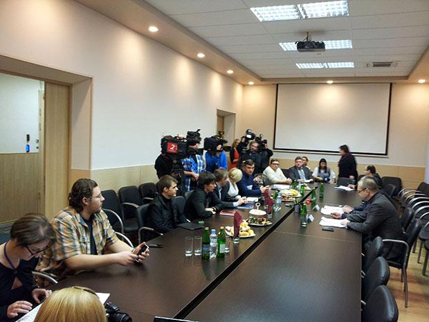 Встреча Веллера и Сысоева с блоггерами (МУрманск)
