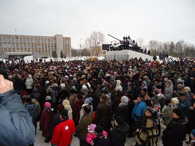 Протестные митинги в Мончегорске и Кандалакше
