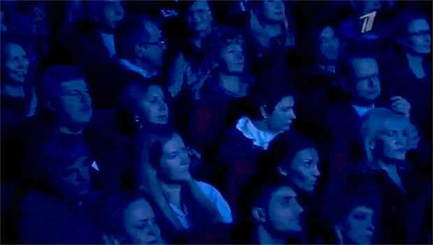 Дмитриенко на концерте Лепса