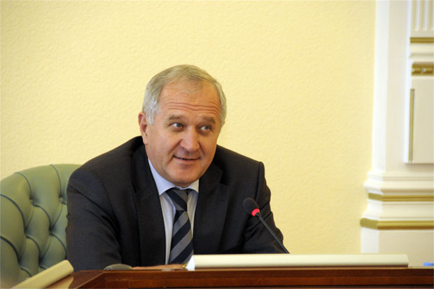 Владимир Булавин - визит в Мурманск