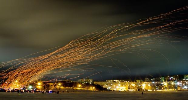 В Мурманске запретят запуск воздушных (небесных) фонариков