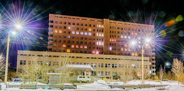 Городская клиническая больница октябрьская 68