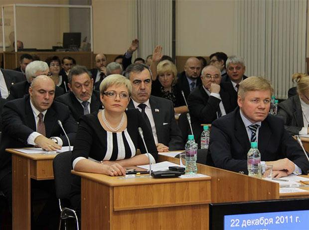 Юрий Шадрин, Марина Ковтун, Андрей Чернев и Александр Крупадеров