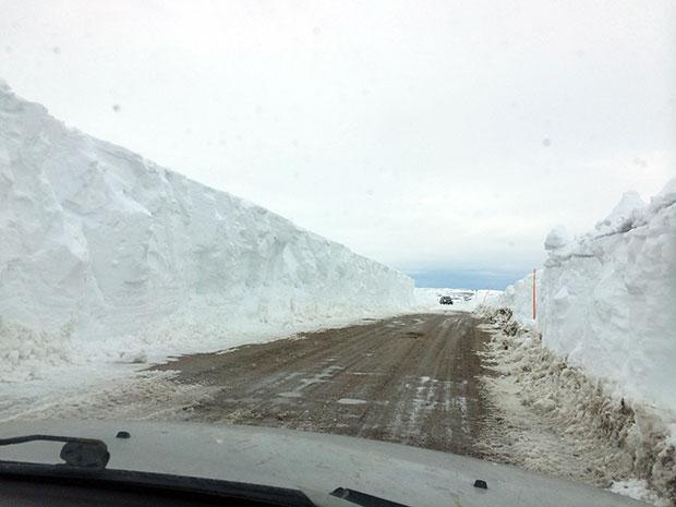 Дорожные службы откопали дорогу на Териберку