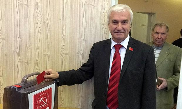 Михаил Антропов, КПРФ, губернатор Мурманской области, кандидат