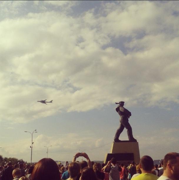 День ВМФ в снимках Instagram