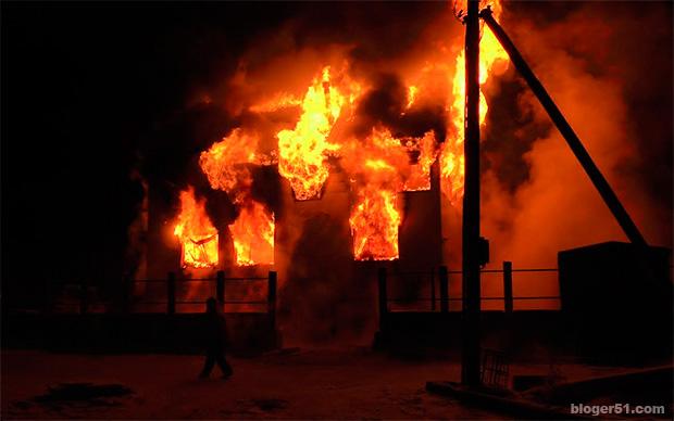 сгорел эвакуатор