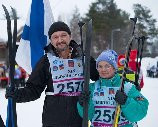 Лыжня дружбы, Лыжня дружбы 2016, Barents skiing race ski track for friendship