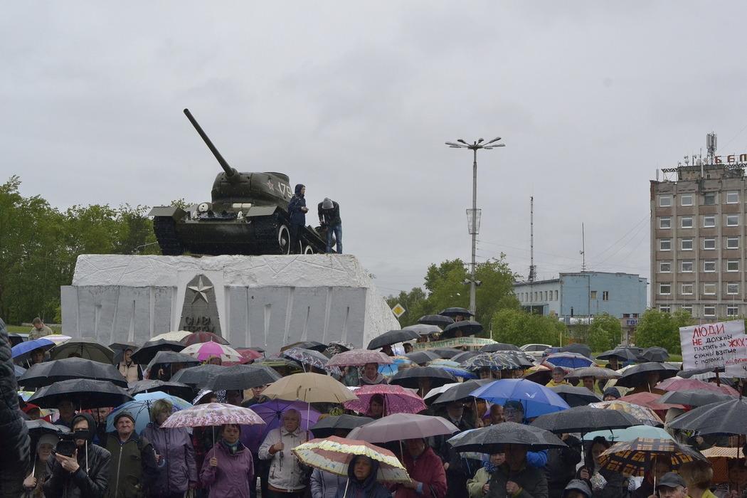 Митинг в кандалакше 13 июня 2016 за электроотопление против счетов мурманэнергосбыт