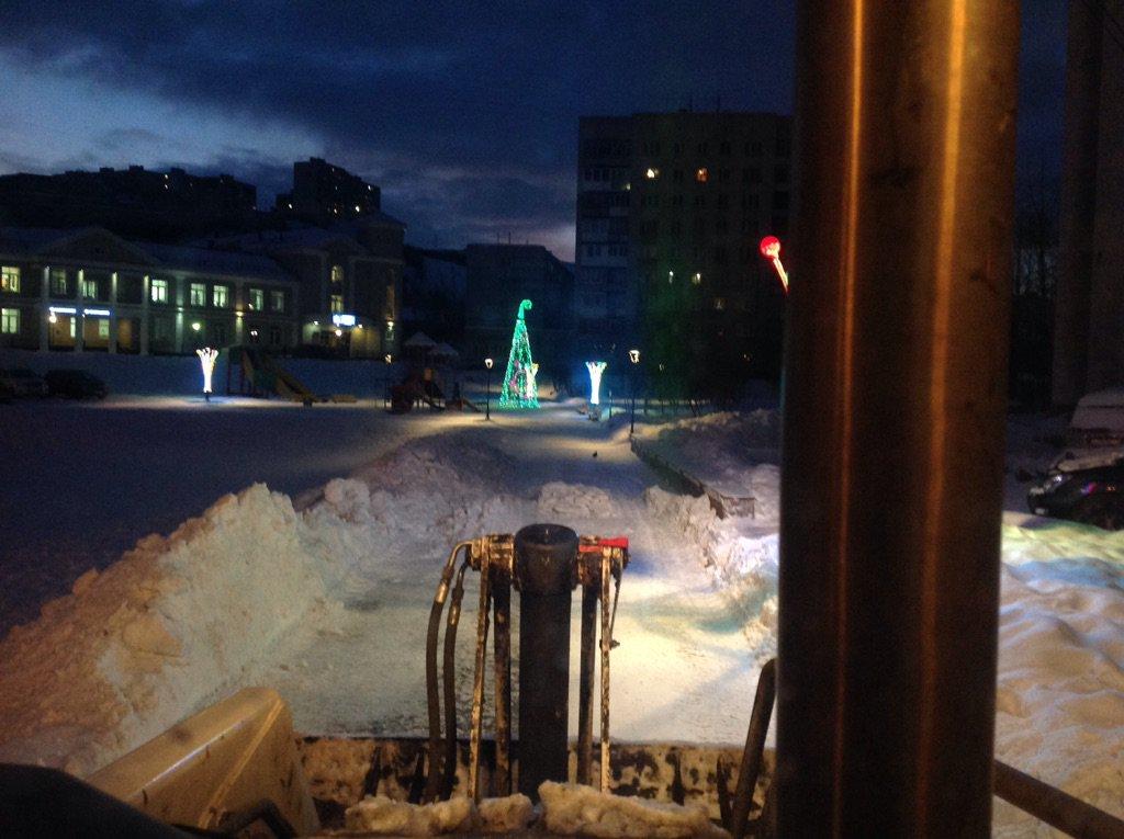 Про снег и уборку города