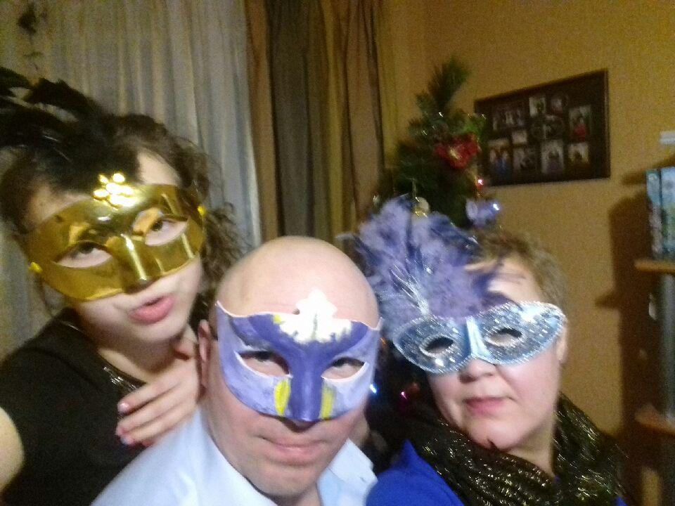Новогодняя ночь в Мурманске 2017