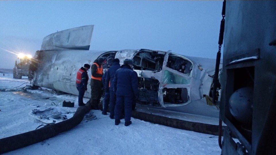Видео катастрофы Ту-22М3